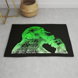 Logic vs Imagination Rug