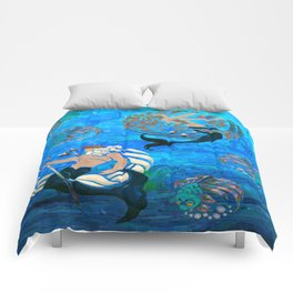 Myth of the Sea New Age Comforters