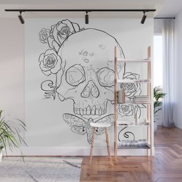 Syphilis outlines Wall Mural