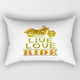LIVE - LOVE - RIDE Rectangular Pillow