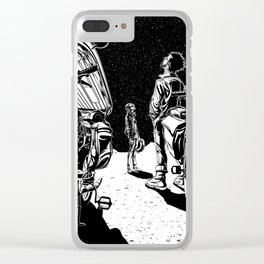 Fourteen Hours To Flagstaff Clear iPhone Case