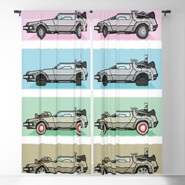 Time Machine - Back to the Future Blackout Curtain