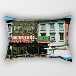 NYC Street Photography Rectangular Pillow