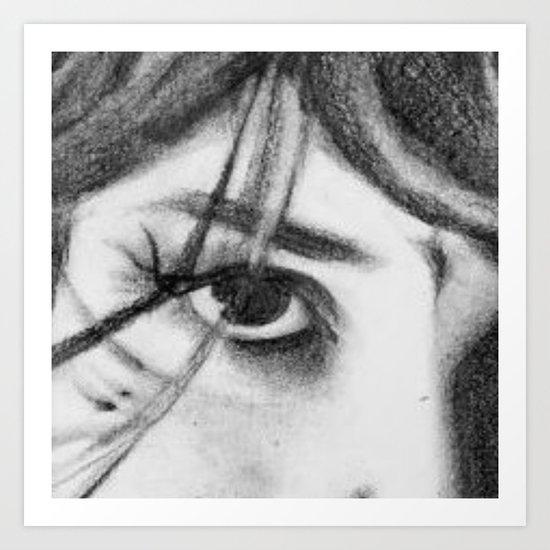 My eye Art Print