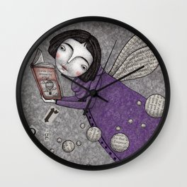 Stories in the Sky Wall Clock