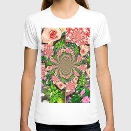 Rose Petal Mandala T-shirt