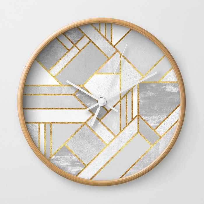 Gold City Wall Clock