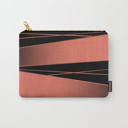 Black and red. Carry-All Pouch