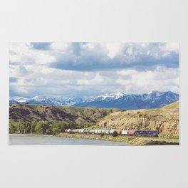 Along the Yellowstone Rug