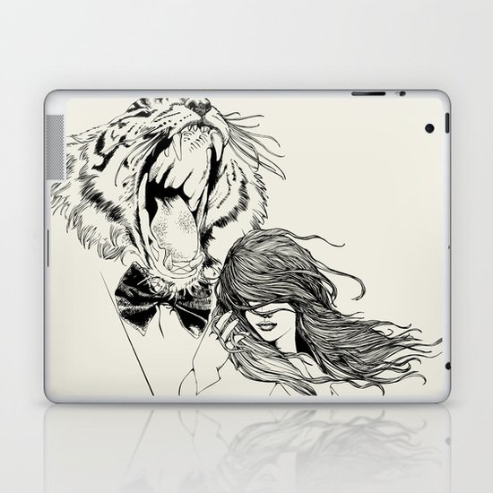 The Tiger's Roar Laptop & iPad Skin