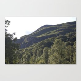 The Trossachs Canvas Print