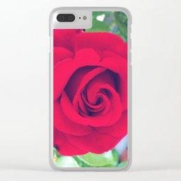 FlowerPower #11 Clear iPhone Case