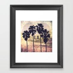 L.A. Love Framed Art Print