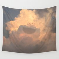 muppet Wall Tapestries featuring Cloud Monster by eviliv
