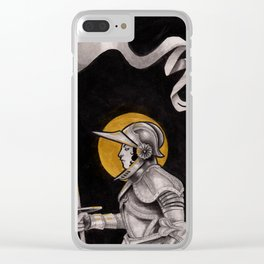 Joan of Arc Clear iPhone Case