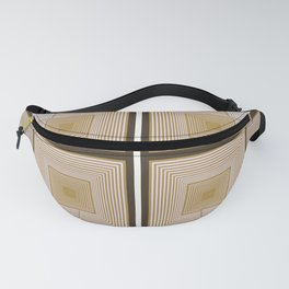Squares Repeated Fanny Pack