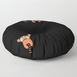 Pocket Red Panda Bears Floor Pillow