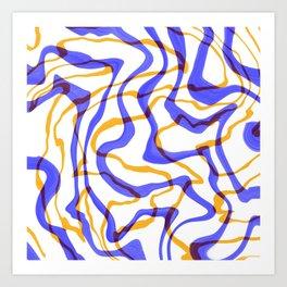 Marbleness  Art Print