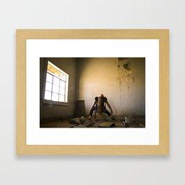 Impasse - Window Framed Art Print
