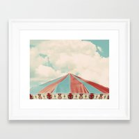 carnival Framed Art Prints featuring Carnival by elle moss