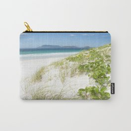 Beach with white sand and turquoise water in Cabo Frio - Brasil Carry-All Pouch