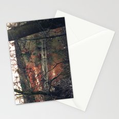 Red rocks near Stourport on Severn, Worcestershire Stationery Cards