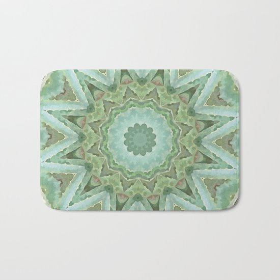 Kaleidoscope of Cacti Bath Mat