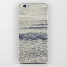 the distant birds iPhone Skin