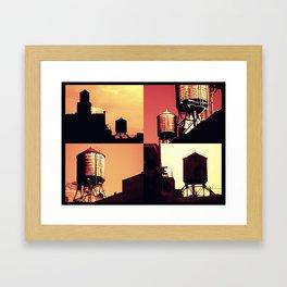 Essence of New York Framed Art Print
