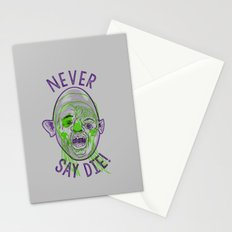 Never say die! Stationery Cards