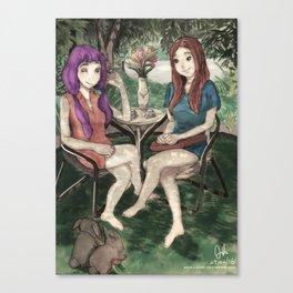 Deux Vantaux Canvas Print