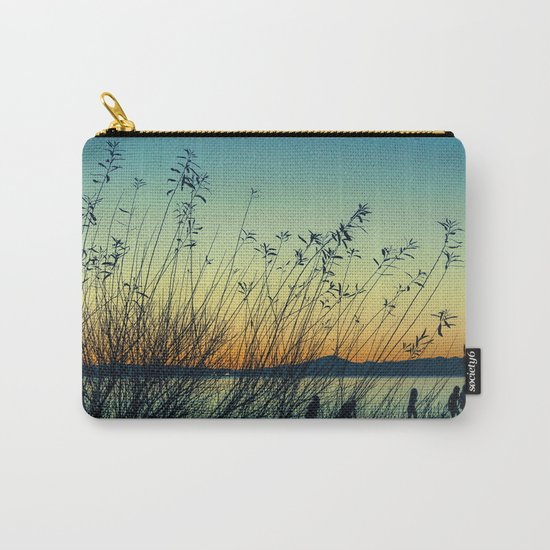 Kids at Dusk Carry-All Pouch