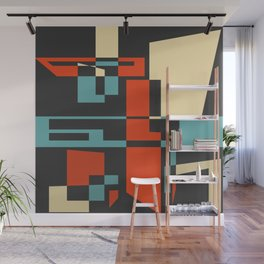Retro Style 02 Wall Mural