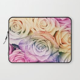 Some people grumble - Colorful Roses - Rose pattern Laptop Sleeve