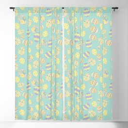 Pastel Easter Eggs I Blackout Curtain