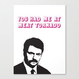 Be my valentine.  Canvas Print