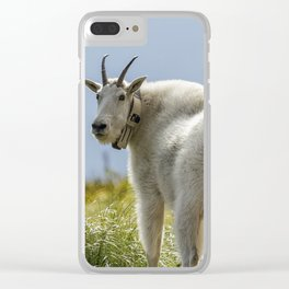 The Ups and Downs of Being a Mountain Goat No. 1 Clear iPhone Case