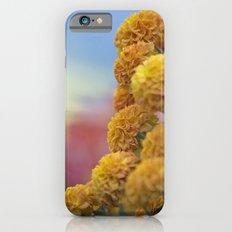 Autumn Botanical -- Golden PomPoms iPhone 6s Slim Case