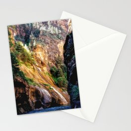 The Narrows - Zion National Park Stationery Cards