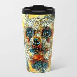 AnimalArt_Meerkat_20171102_by_JAMColorsSpecial Travel Mug