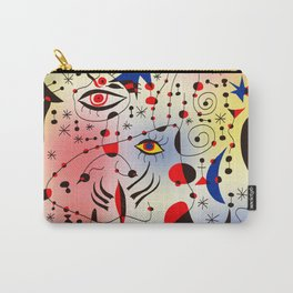 Joan Mirò Pattern #1 Carry-All Pouch