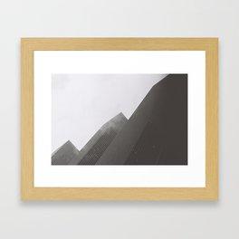 Brookfield Place, B+W Framed Art Print