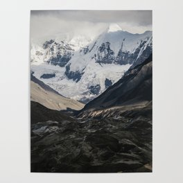 Glacial View South East AK Poster