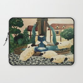 Belle Reading from Beauty and the Beast Laptop Sleeve