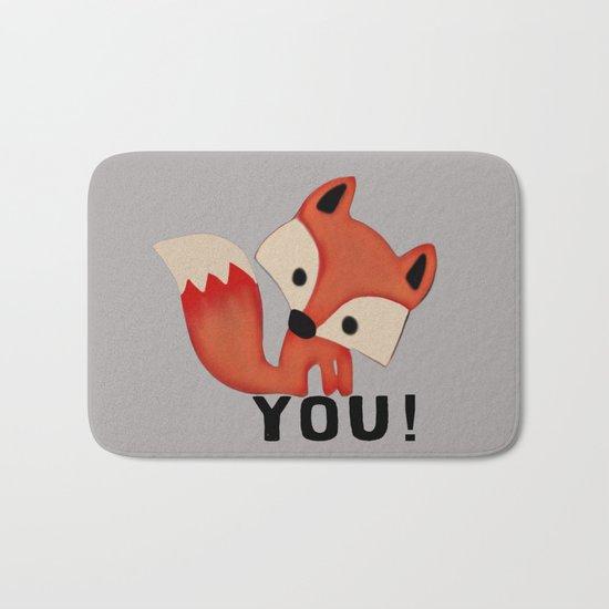 Fox YOU! Bath Mat