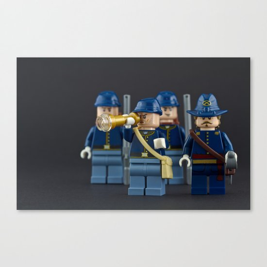 Here come the Cavalry  Canvas Print