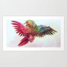 Cintiq Charles Art Print