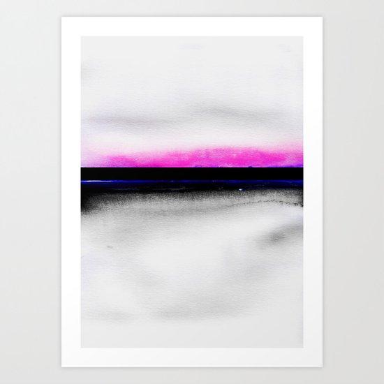 No Sense Art Print