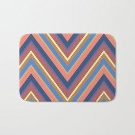 A different geometric zigzag pattern Bath Mat
