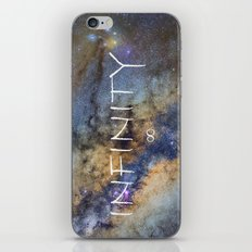 Milky way. Infinity. Scorpius and Sagittarius. iPhone & iPod Skin